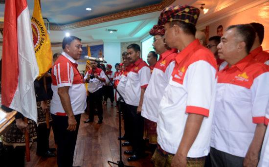 Menpora Hadiri Pelantikan Pengurus Lampung Sai