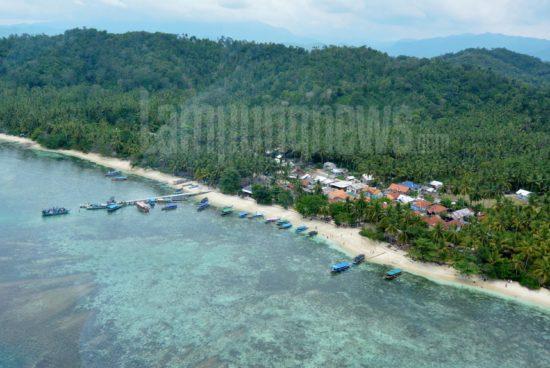 Ini Foto Udara Keindahan Pulau Pahawang