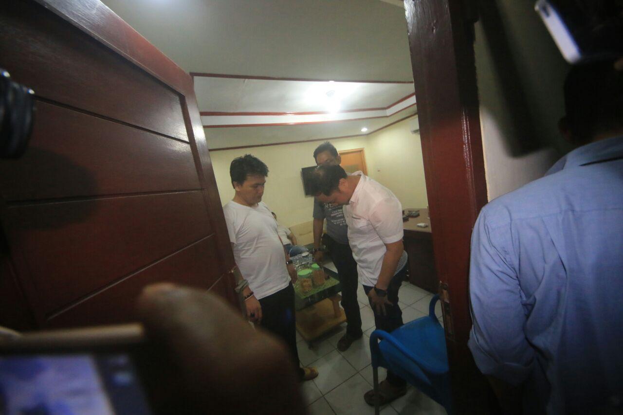 Oknum anggota DPRD Pesawaran ditangkap Petugas Ditresnarkoba Polda Lampung (El Shinta)