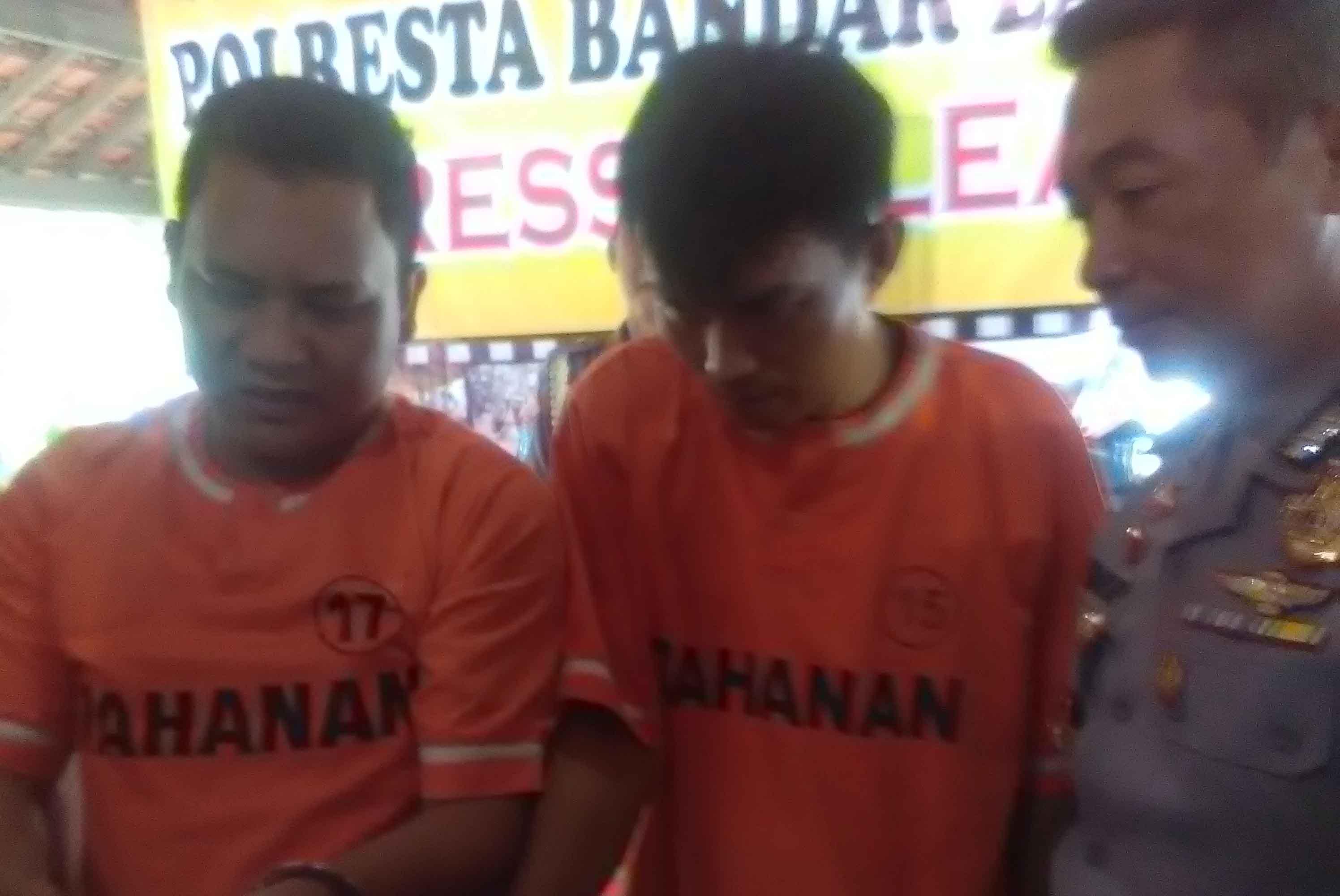 Pelaku Pembobol ATM (Lampungnews/Adam)
