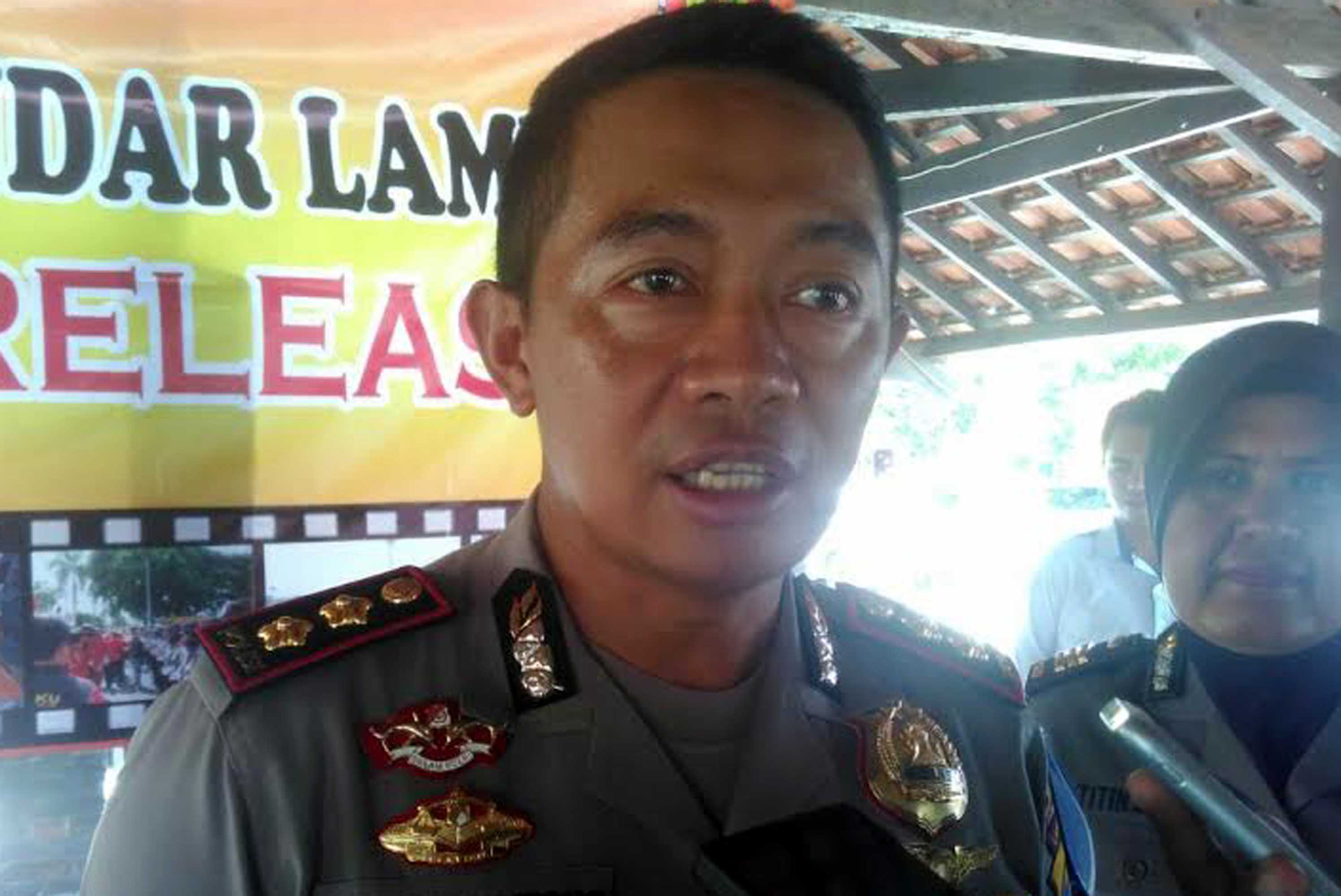 Kapolresta Bandarlampung, Kombes Murbani Budi Pitono.  (Foto: Lampungnews.com)