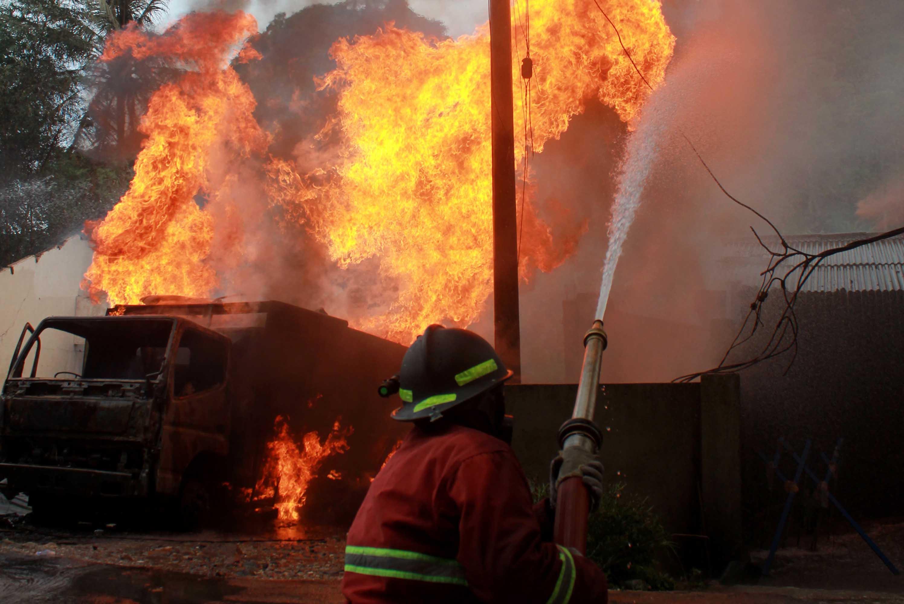 Belasan Kali Kebakaran, Ini Imbauan Herman HN Pada Warga Bandarlampung