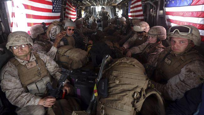 Ilustrasi Marinir AS. (Reuters/Omar Sobhani)