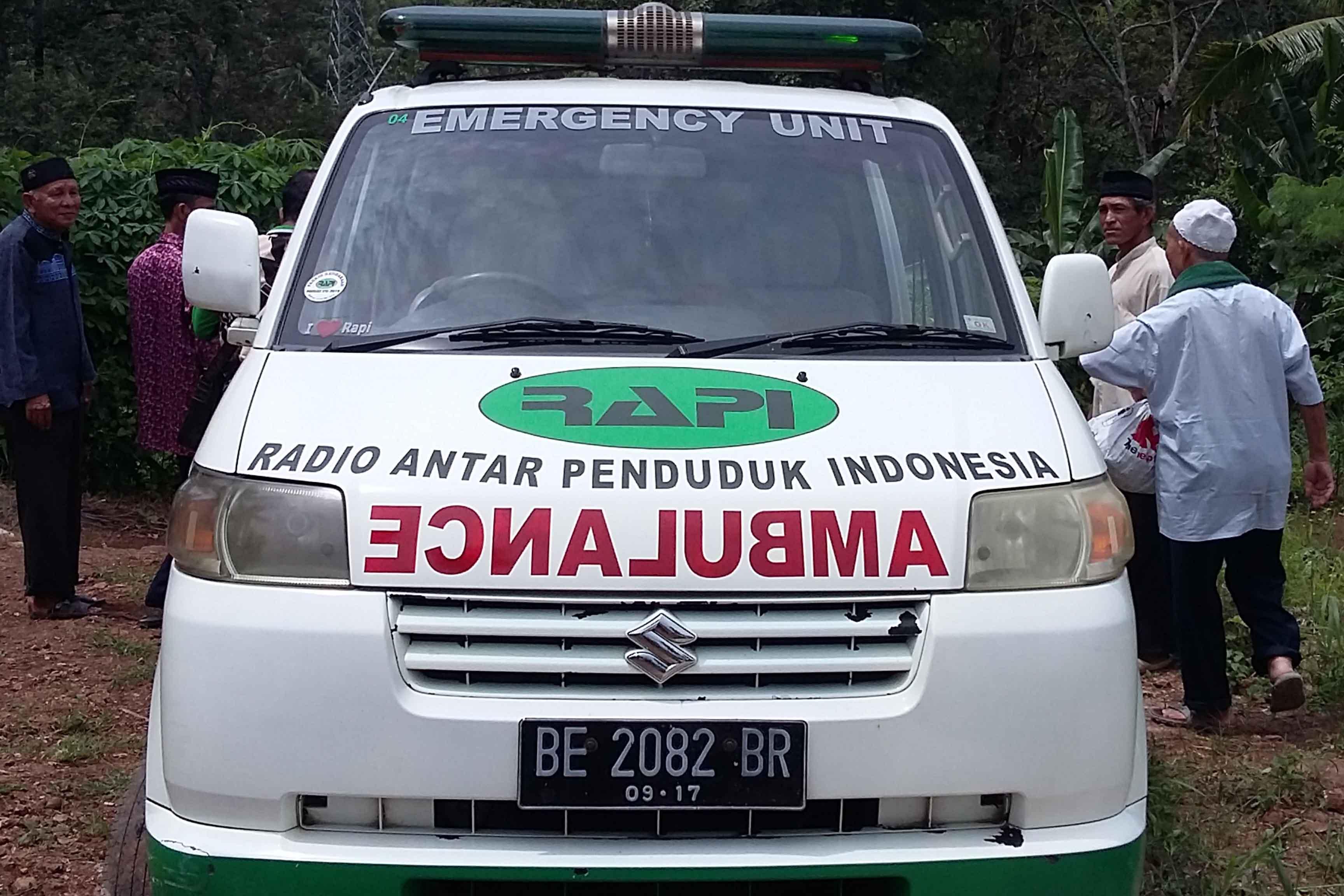 Rapi Sediakan Ambulan Gratis Untuk Warga