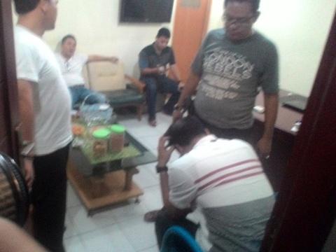 Oknum anggota DPRD Pesawaran ditangkap Petugas Ditresnarkoba Polda Lampung(ist)