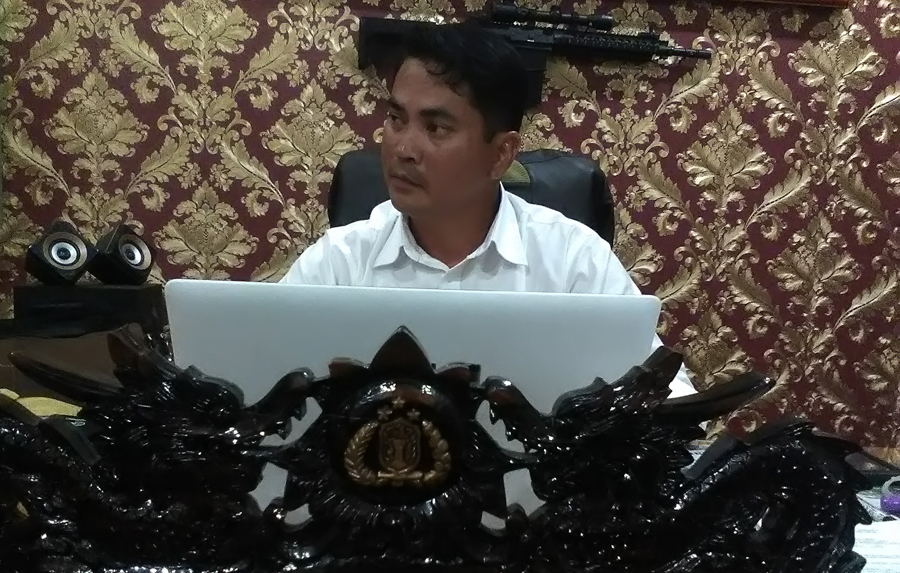 Kepala Satuan Reserse Kriminal (Kasatreskrim) Polresta Bandarlampung Deden Heksaputra