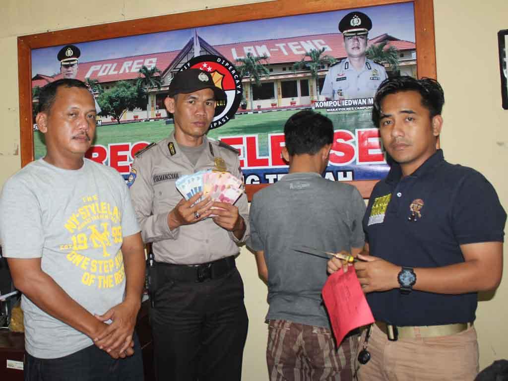 Pelaku Pemerasan di Tangkap Polisi