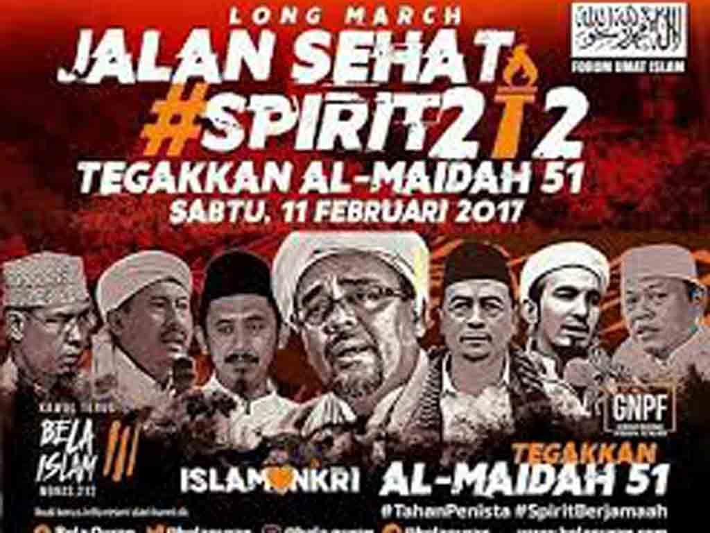 Ilustasi aksi 112 Jakarta