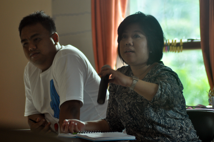 Direktur Eksekutif Lembaga Advokasi Perempuan Damar Sely Fitriani. Dok Komite CEFIL Lampung.