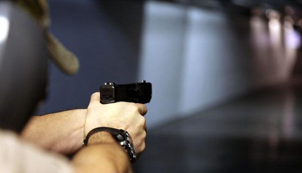 Ilustrasi penembakan. (AP Photo/Robert Ray)
