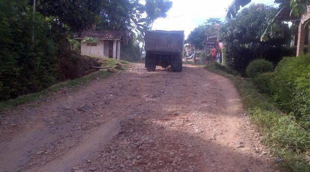 Kerusakan aspal jalan dua desa/pekon di Kecamatan Pringsewu, yakni Pekon Podorejo dan Pekon Bumiarum, kondisinya cukup parah.