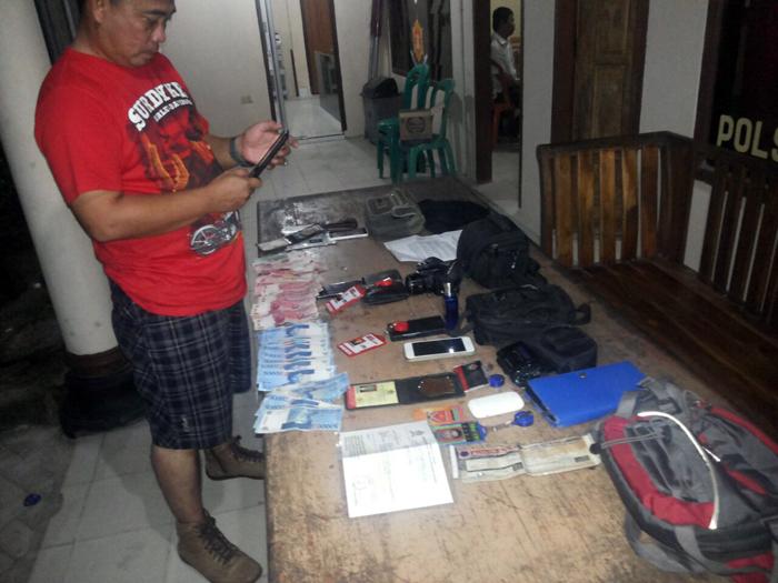 Peras Petani, Oknum LSM Hukum Dan HAM Dicokok Polisi Lamteng