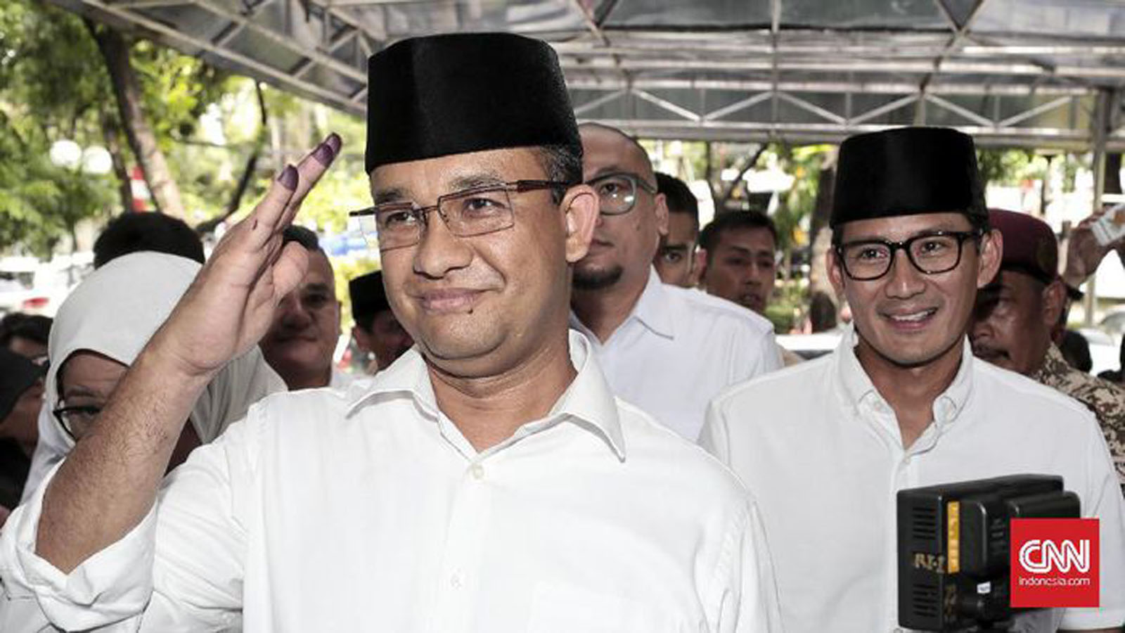 Anies - Sandiaga (CNN Indonesia)
