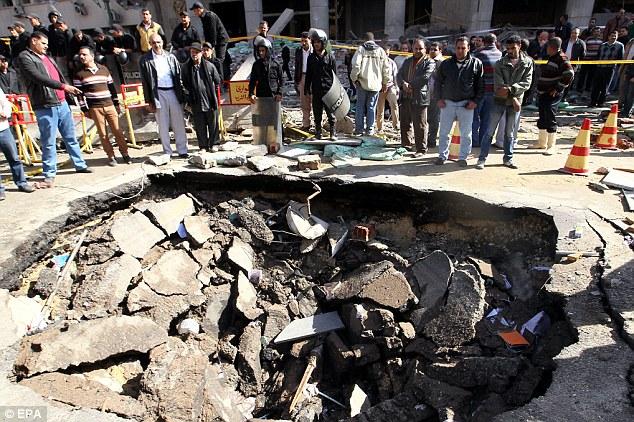 ilustrasi bom meledak di Mesir (Foto :