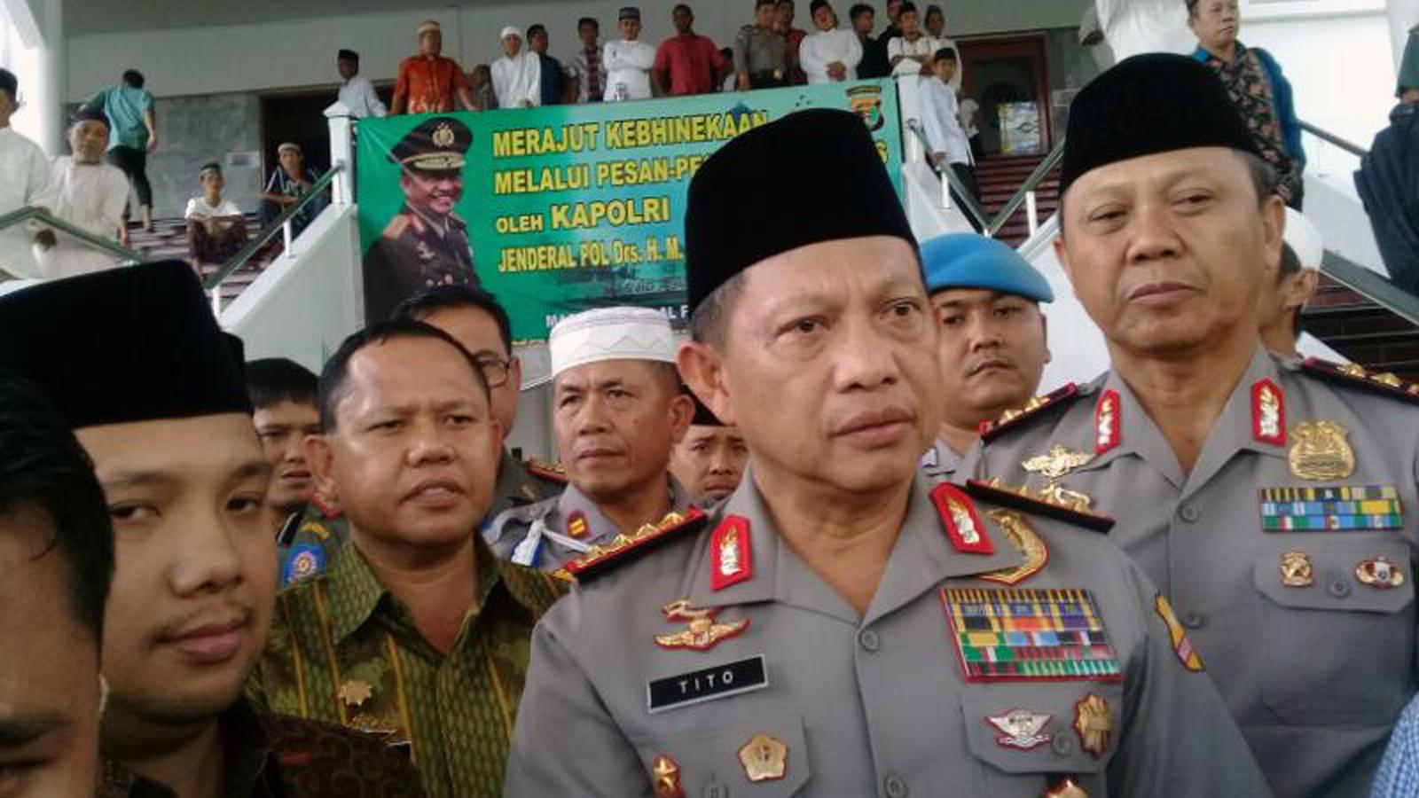 Kapolri Jenderal Tito Karnavian. (Lampungnews/Adam)