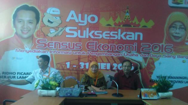 BPS Lampung. (Lampungnews/Davit)