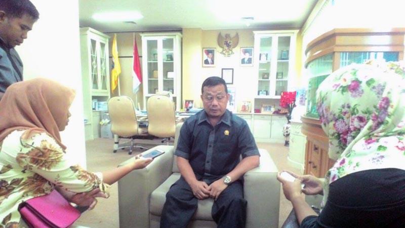 Dedi Afrizal. (Lampungnews/Davit)
