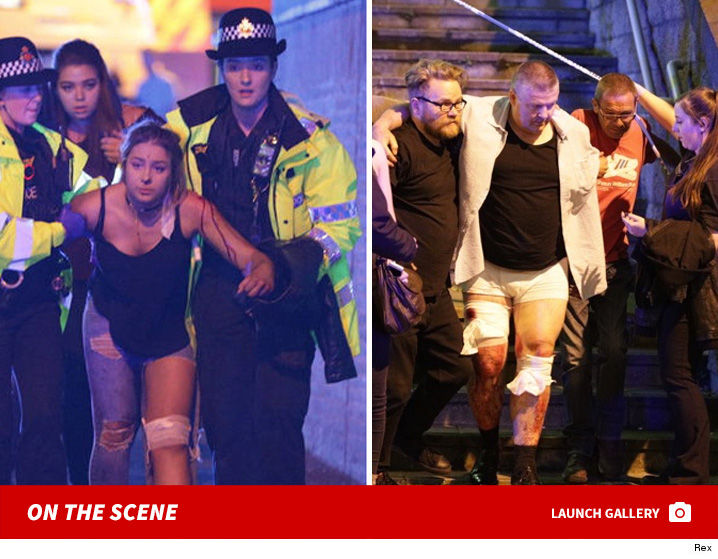 Korban ledakan bom di konser A