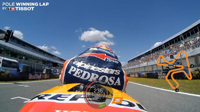 Pembalap Repsol Honda  Dani Pedrosa (Motogp.com)