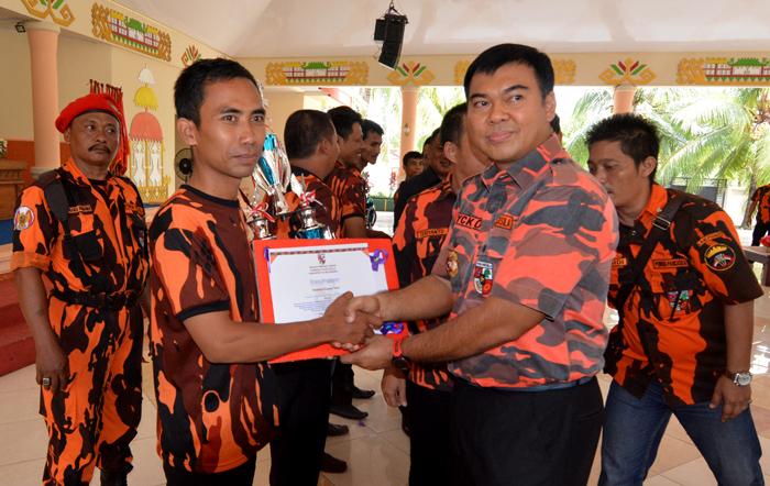 Ketua MPW Pemuda Pancasila Lampung Rycko Menoza SZP