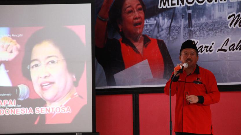 Plh Ketua DPD PDI Perjuangan Provinsi Lampung, Bambang DH