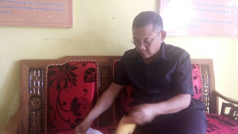 Umar Ali. (Lampungnews/Davit)