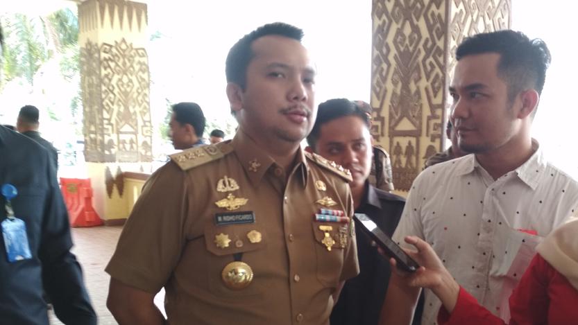Gubernur Lampung, Ridho Ficardo. (Lampungnews/Davit)