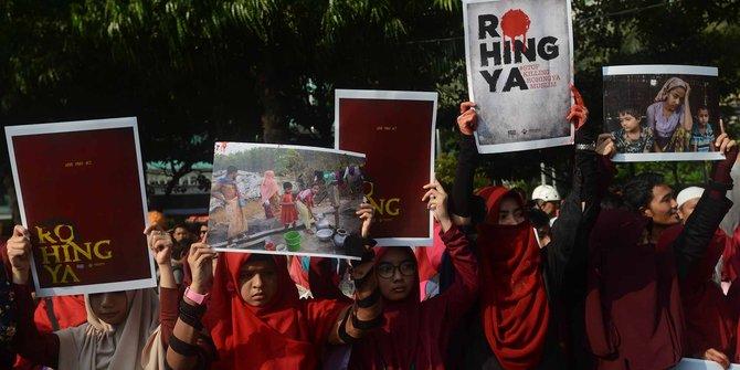Aksi simpati untuk Rohingya
