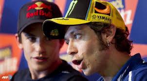 Rossi dan Marquez (Ist)