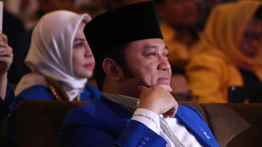 Ketua DPW PAN Lampung  Zainudin Hasan. (Lampungnews.com/El Shinta)