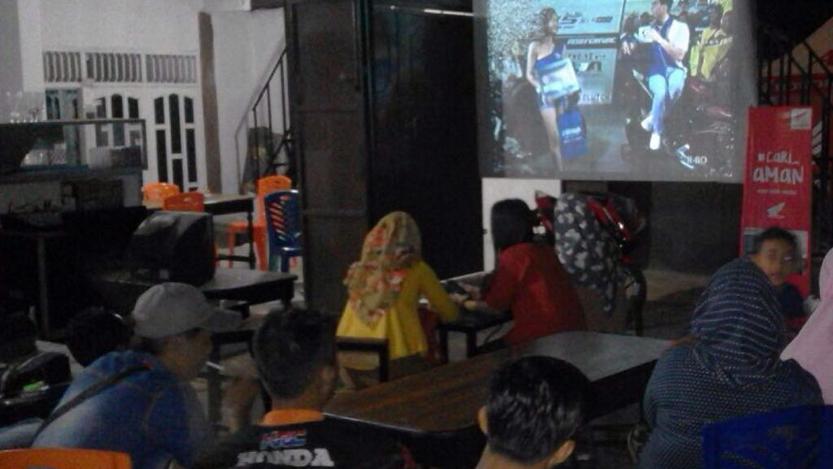 Nobar MotoGP PT Bintang Kharisma Jaya (Ist)