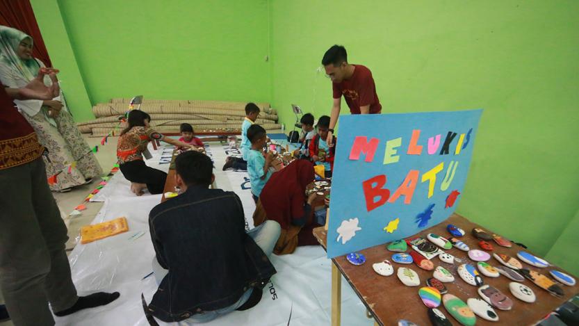 Komunitas Jendela Lampung Ajak 'Kids Zaman Now' Main Ala 90-an