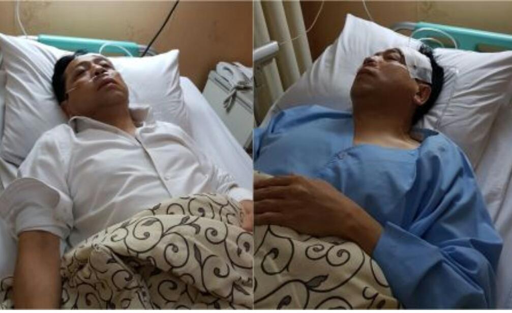 Setya Novanto dalam perawatan (dok istimewa)