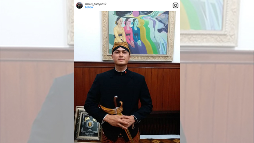 Pratu Daniel Darryan. (Instagram)