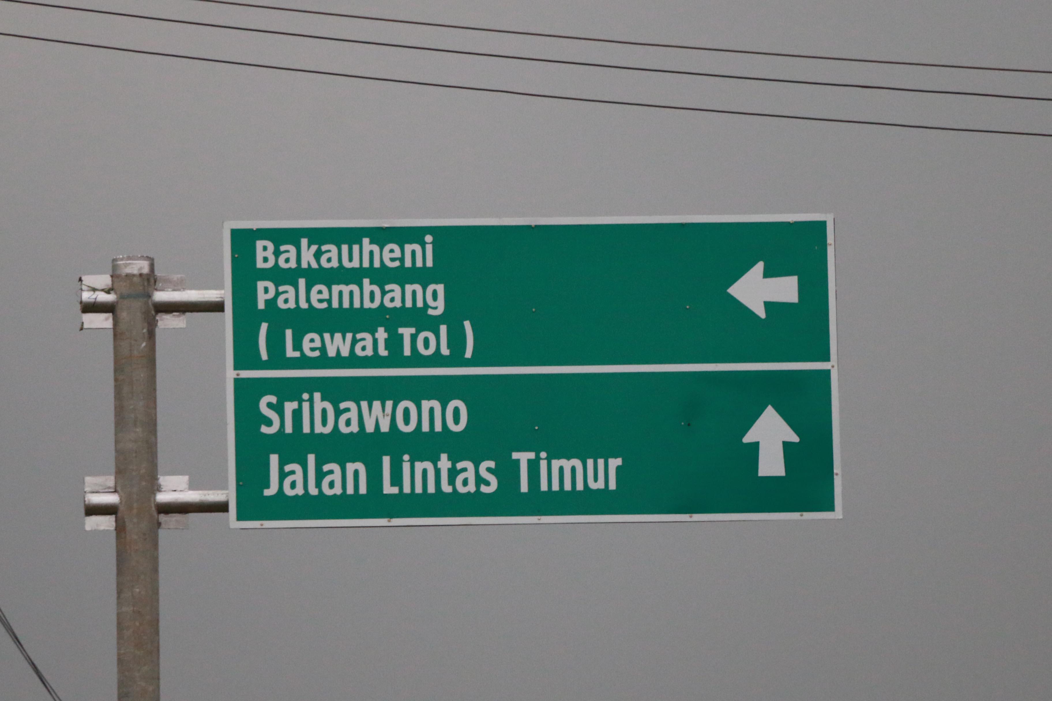 (Foto) Progres Pembangunan Gerbang Tol Lematang di Lampung