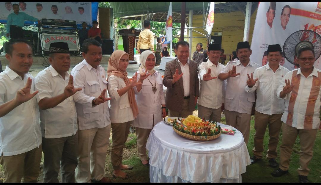 Berkiprah Satu Dasawarsa, Gerindra Bertekad Jadikan Prabowo Presiden 2019