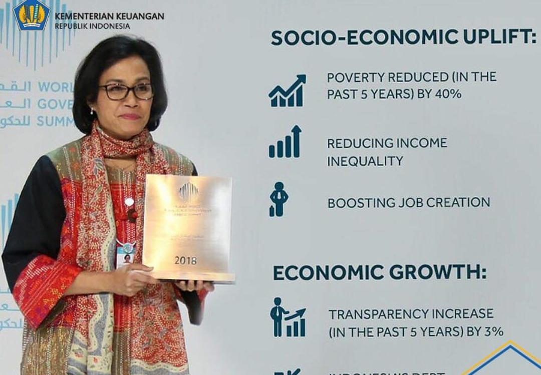 Menteri Keuangan Sri M