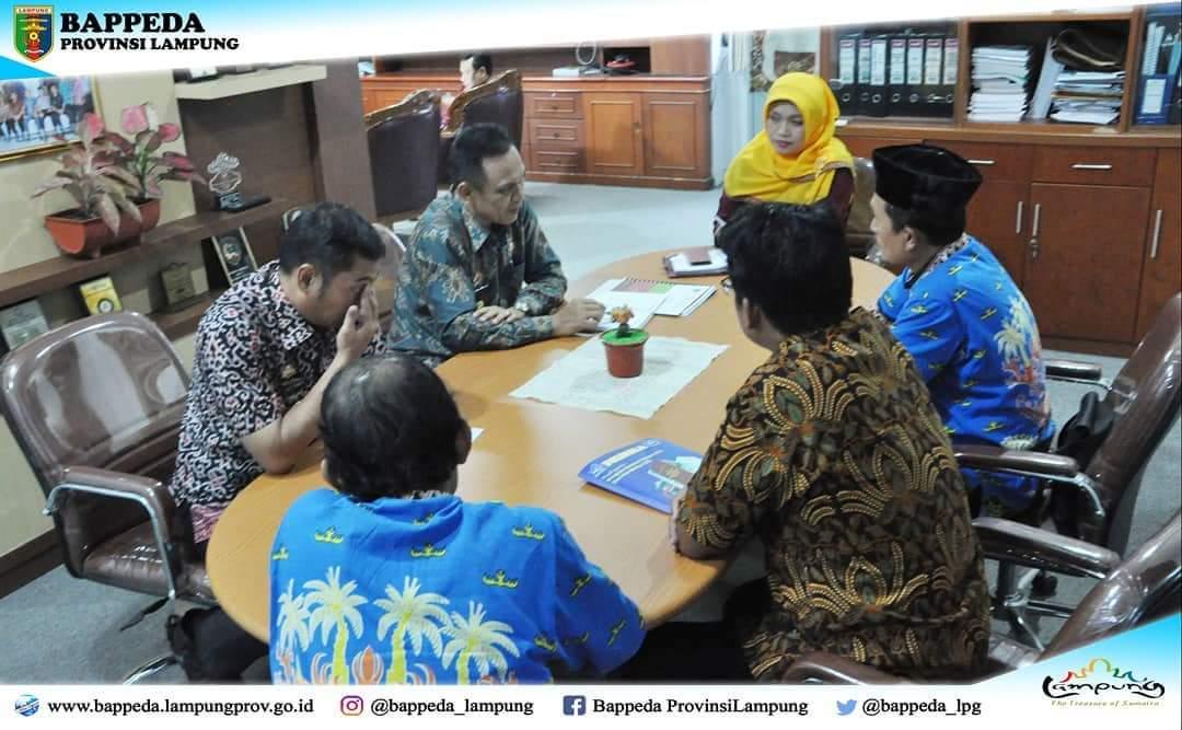 Rapat Pihak Bappeda Provinsi Lampung dengan pihak Polinela (Foto Bappeda)