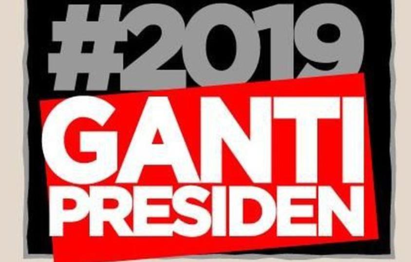 Gerakan #2019gantipresiden (ist)