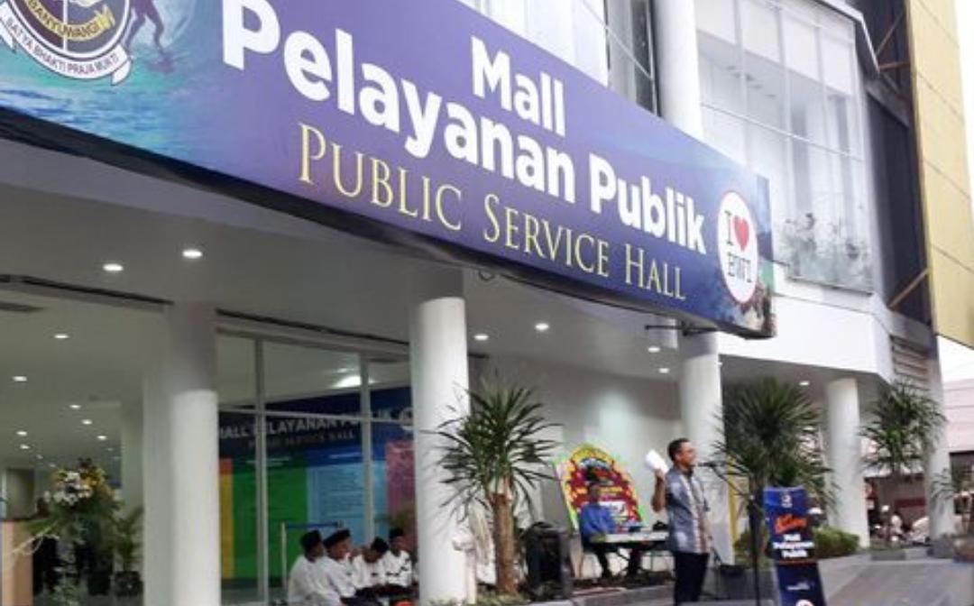 Ilustrasi Mall Pelayanan Publik (ist)
