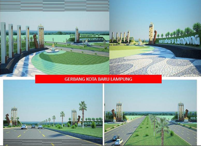 ilustrasi Kota Baru Lampung (skycrapercity.com)