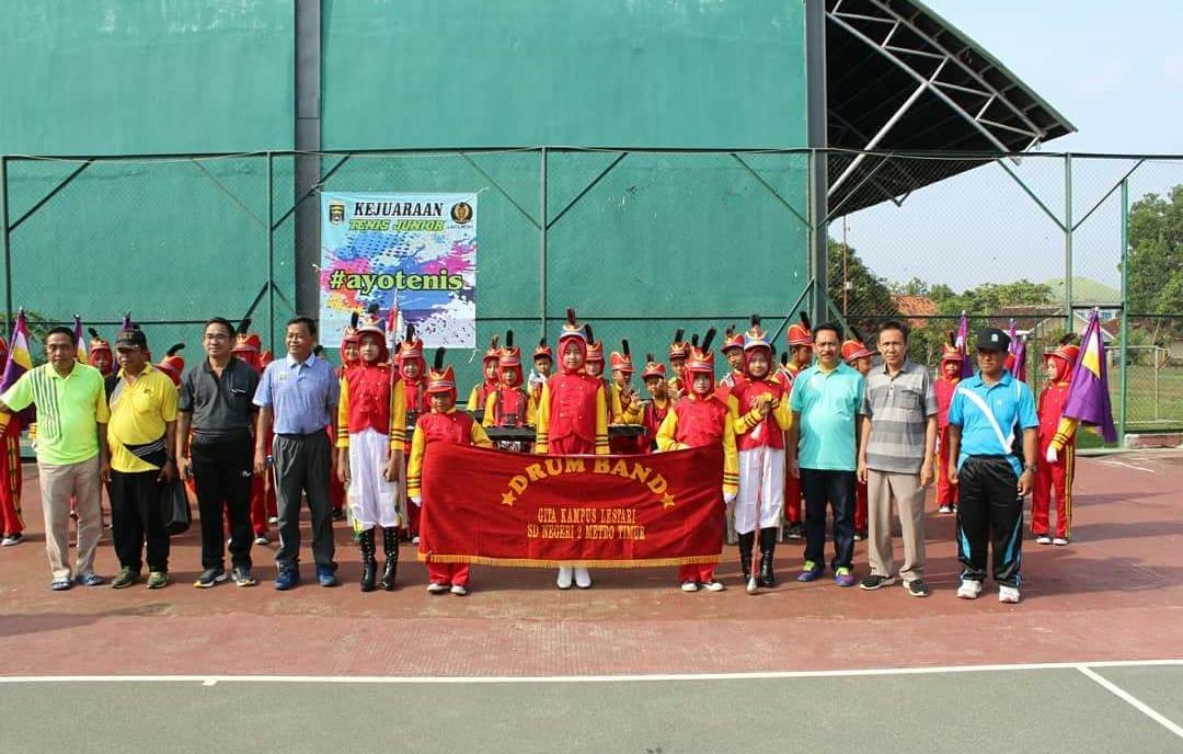 Pemkot Metro Gelar Kejuaraan Tenis Lapangan Walikota Cup