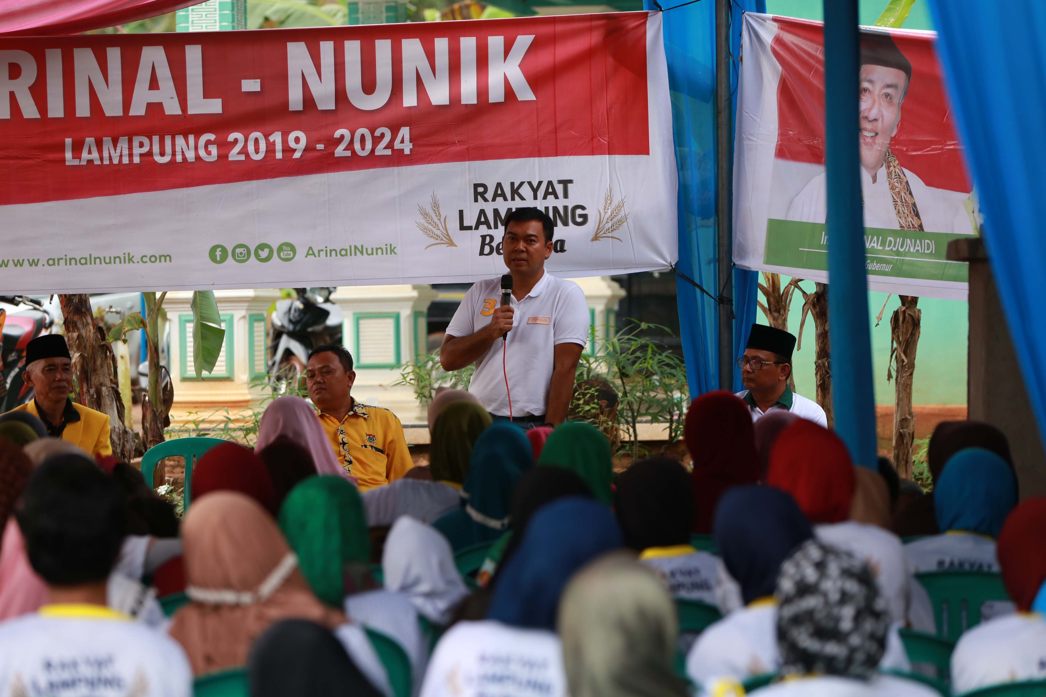 Kampanye Dialogis Arinal-Nunik, Rycko Turun Jadi Juru Kampanye
