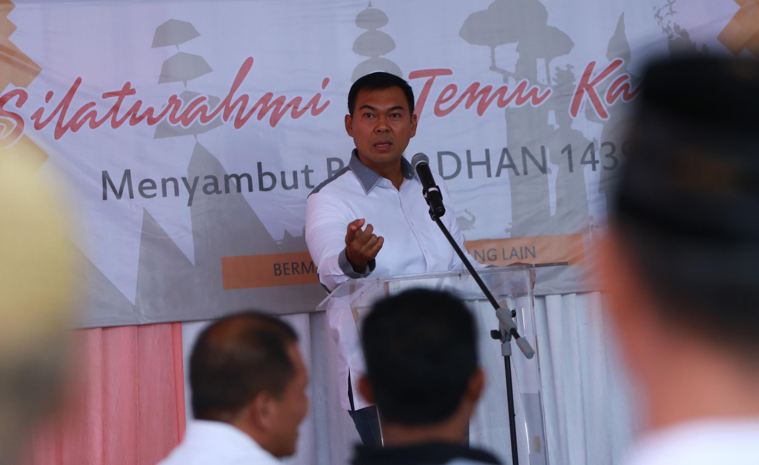 Rycko Menoza Silaturahmi dengan Lampung Sai, Pemuda Pancasila dan Mantan Pejabat Lamsel
