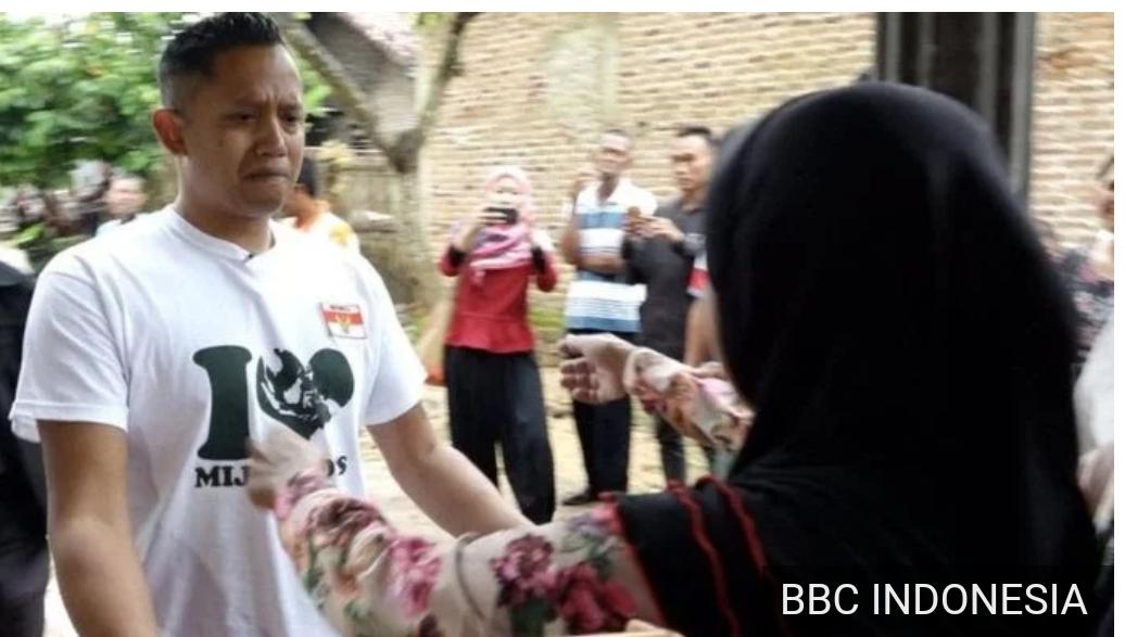 Pertemuan Andre dengan Ibu kandungnya (foto : bbcindonesia.com)