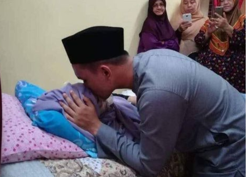 Kisah Haru Menyayat Hati, Istri Meninggal Sehari Usai Nikah
