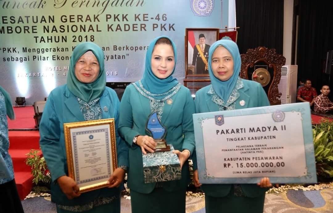 Lampung Raih 3 Penghargaan di Jambore Nasional Kader PKK 2018