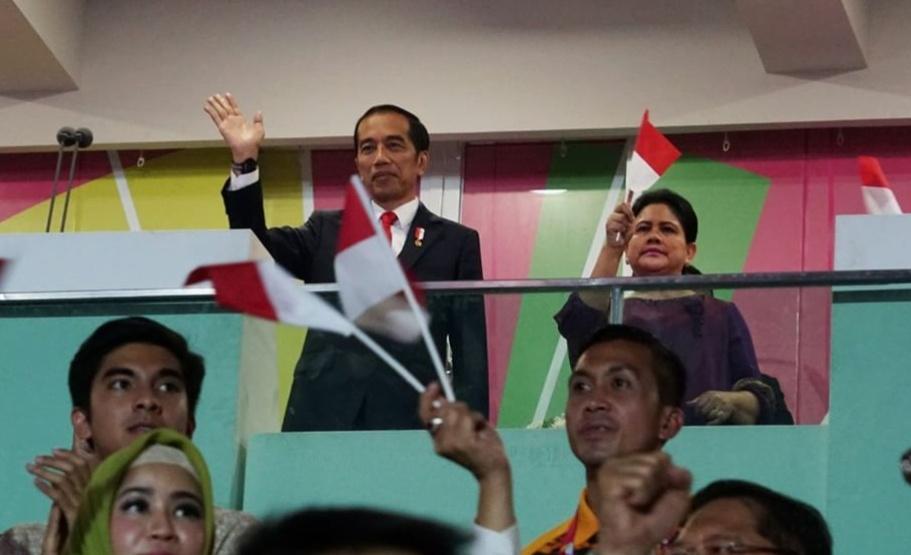 Jokowi Buka Asian Para Games 2018 (Foto Humas)