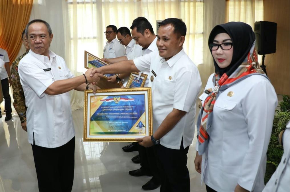 Lampung Selatan Kembali Raih WTP dari BPK