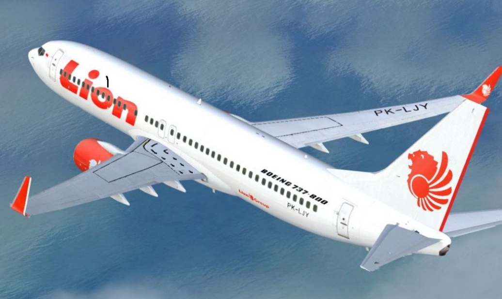 Ilustrasi pesawat Lion Air (bisniswisata.co.id)